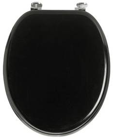 Toiletbril basic zwart