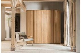 Goossens Excellent Kledingkast Aberson, 225 cm breed, 222 cm hoog, 5 hout draaideuren