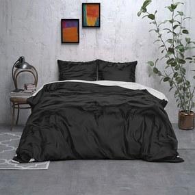 Sleeptime Elegance Double Face Beauty - Zwart/Wit 1-persoons (140 x 220 cm + 1 kussensloop) Dekbedovertrek