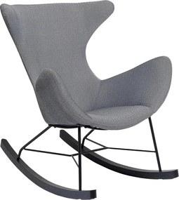 Kare Design Balance Grijze Schommelstoel Met Zwart