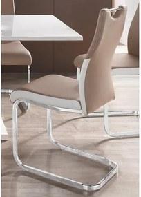 Vrijdragende stoel in set van 2 of 4
