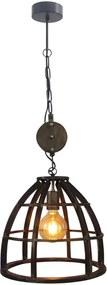 Brilliant hanglamp Matrix - zwart - Leen Bakker