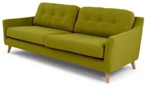 Rufus 3-zitsbank, lenteblad groen