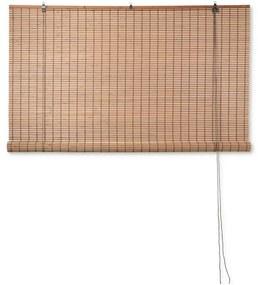 Rolgordijn bamboe - lichtbruin - 150x180 cm
