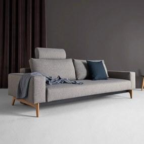 Innovation Living Idun Comfortabele Design Slaapbank-521 Grijsbruin - 521