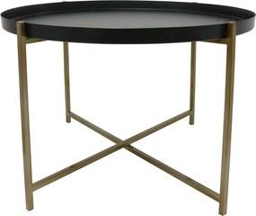 HKliving Brass salontafel 63 cm