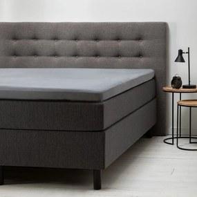 Fresh & Co 2-Pack Comfort Topper Hoeslaken Jersey- Lichtgrijs 80/90 x 200/210/220 cm