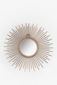 Goudkleurige spiegel zon