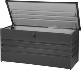 Kussenbox staal grafietgrijs 132x62 cm CEBROSA