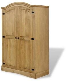 Medina Kledingkast Mexicaans grenenhout Corona-stijl 2 deuren