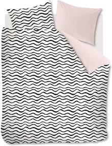 Ambiante dekbedovetrek Loke - soft pink - 260x200/220 cm - Leen Bakker