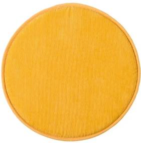 RIBBY Zitkussen geel H 2 cm; Ø 38 cm