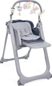 Polly Magic Relax Hoge Stoel - India Ink - Kinderstoelen