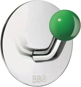 Smedbo BB zelfklevende haak diameter 48 mm glans rvs groen BK1088