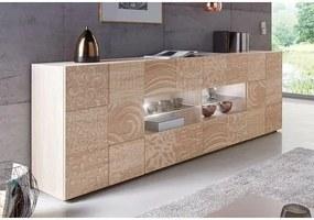 LC »Miro« dressoir, breedte 241 cm met decoratieve zeefdruk