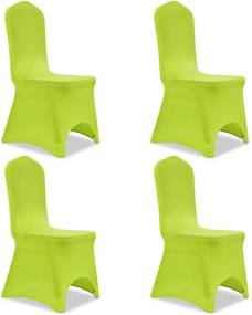 Stoelhoes stretch 4 stuks groen