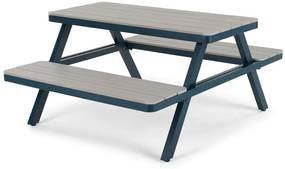 Thada picknicktafel voor buiten, polywood and donkerblauw