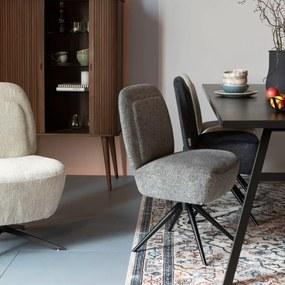 Zuiver Dusk Comfortabele Design Eetkamerstoel Lichtgrijs