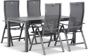 Hartman Europe/Concept 160 cm dining tuinset 5-delig