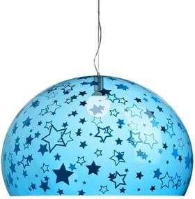 Kartell FL/Y Kids Sterren hanglamp large blauw