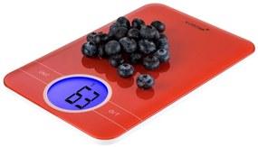 Hippe digitale keukenweegschaal - rood