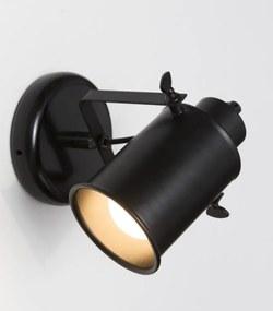 Tutto wandlamp cylinder e27 zonder lamp zwart