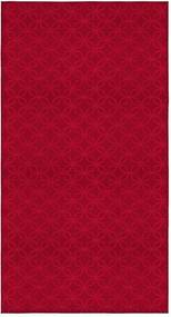 2-delige jacquard tafelkleed Rechthoekig/rood