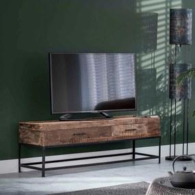 TV-meubel Met Twee Lades - 135x40x46cm.