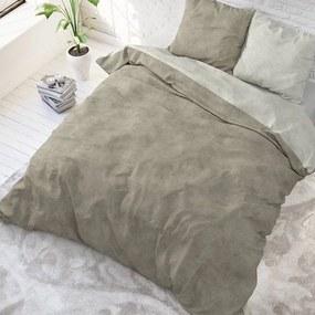 Sleeptime Elegance Twin Washed - Taupe 1-persoons (140 x 220 cm + 1 kussensloop) Dekbedovertrek