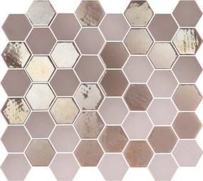 Mozaiek Valencia Hexagon Roze 4,3x4,9