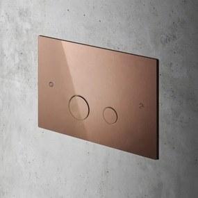 Hotbath Cobber bedieningspaneel geschikt voor Geberit UP320 roze goud CBA320RG