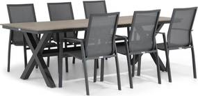 Lifestyle Ultimate/Forest 240 cm dining tuinset 7-delig
