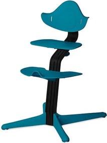 Highchair - Blackstained/Ocean - Kinderstoelen