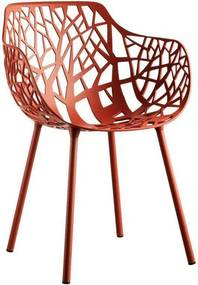 Fast Forest Armchair tuinstoel Coral Red