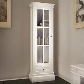 Boekenkast met 3 planken hout wit