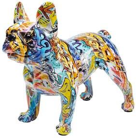 Kare Design Bully Bulldog Kleurrijk Bulldog Beeld