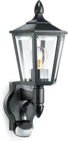 Steinel L 15 Wandlamp Bewegingssensor, Waterdicht IP44, Zwart, E27 Fitting