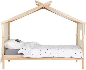 Bln Kids bed Alouette - naturel - 171,9x101,2x216,2 cm - Leen Bakker