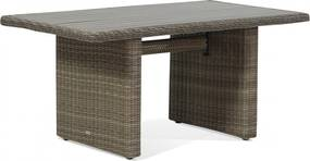 Garden Collections Toronto lounge/dining tuintafel 140 x 80 cm naturel