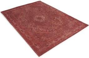 Perez Vloerkleden | Vloerkleed Tatum lengte 290 cm x breedte 200 cm rood vloerkleden 100% chenille katoen vloerkleden & | NADUVI outlet