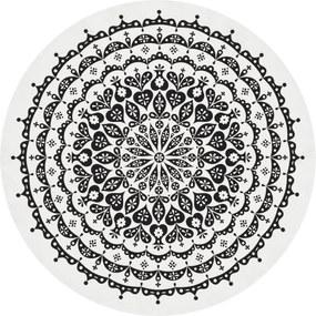 Vitra Round Lace tafelkleed 120 zwart