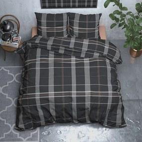 DreamHouse Bedding Wayne - Verwarmend Flanel - Taupe 1-persoons (140 x 200/220 cm + 1 kussensloop) Dekbedovertrek