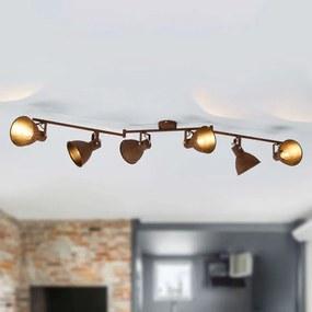 Plafondspot Daniel met 6 lampen