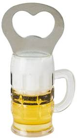 Flessenopener bierglas