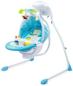 Baby Nora Elektrische Schommel - Blauw