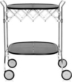 Kartell Gastone trolley zwart