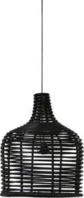 Hanglamp ANINDA - Rotan Zwart - XL
