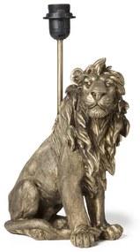 Lampvoet leeuw - goud - 25.5x13.5x40.5 cm