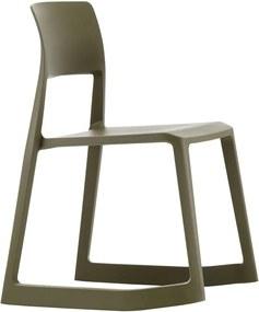 Vitra Tip Ton stoel olijf