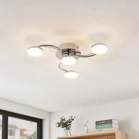 Dyln LED plafondlamp spiraal-optiek 4-lamps - lampen-24